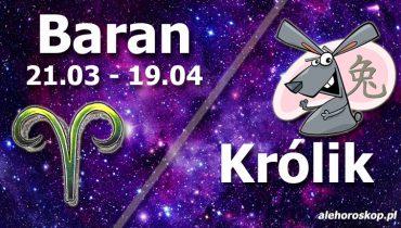 podwójna astrologia baran królik