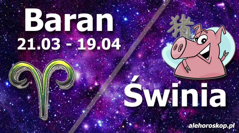 podwójna astrologia baran świnia