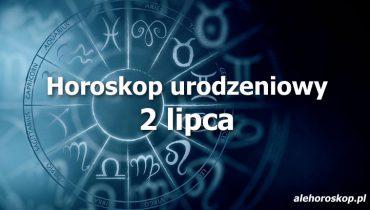 horoskop urodzeniowy 2 lipca